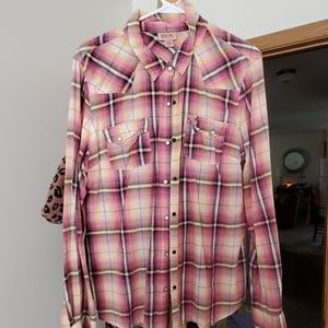 Womens Mossimo button down